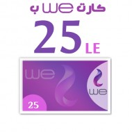 We recharge card 25 LE