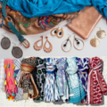 Scarf and shawl and accesories