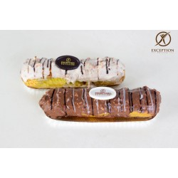 Exception Patisserie _  A piece of Gateau Eclair chocolate