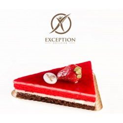 Exception Patisserie _  A piece of Gateau -  Strawberries Mousse