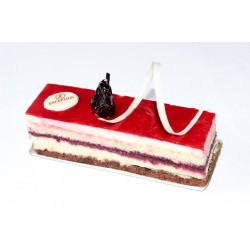 Exception Patisserie _  A piece of Gateau -  Roselle Mousse