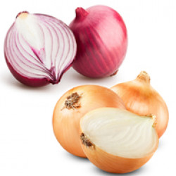 Market |Onions - white / red