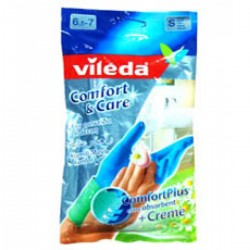 kholoud Detergents  _ VILEDA DRY COMFORT GLOVES - SMALL