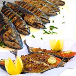 EL Menshawy Fishes  _  ( Mackerel )  - Grilled _ Sinjary